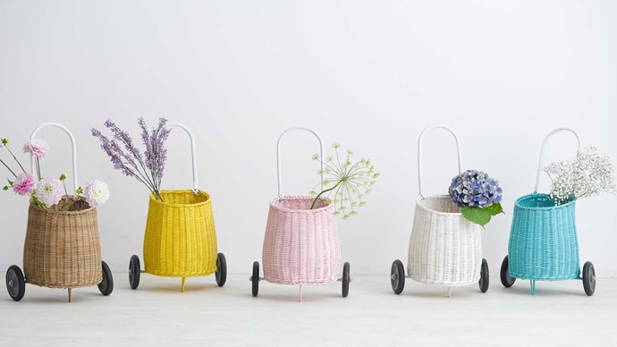 'Luggy' baskets, $75 each, [Olli Ella](http://www.olliella.com.au/)