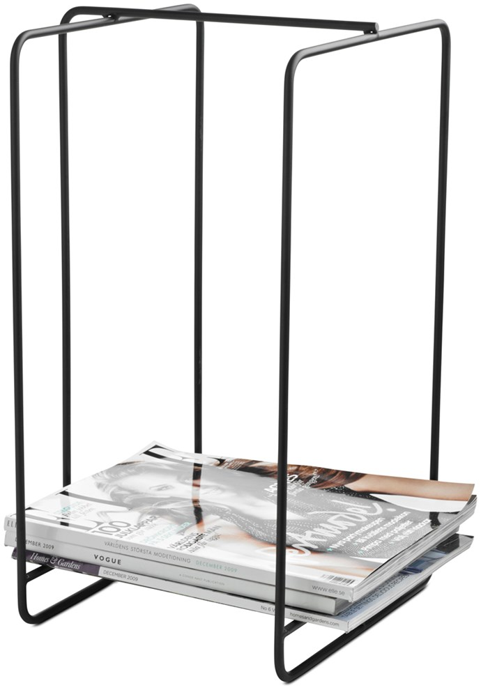 'Strings' magazine holder, $149, [BoConcept](https://www.boconcept.com/en-au/homepage)