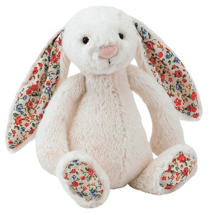 Jellycat 'Bashful' bunnies in Blossom, $26.99 each, from [Yellow Octopus](https://www.yellowoctopus.com.au/).