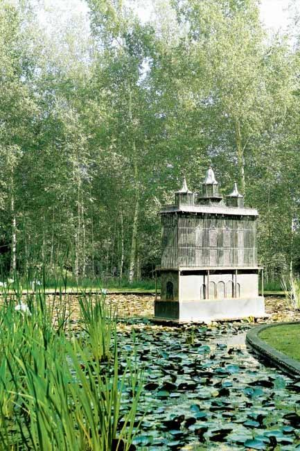 Water is a major component of the garden, instilling peace and tranquillity to each area.