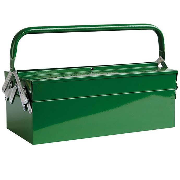 House Doctor Toolbox in Green, $99.95, from [NoteMaker](https://www.notemaker.com.au/)