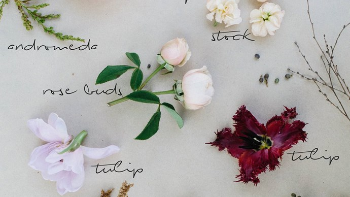 Some of the floral ingredients for a perfect posy.  | Photo: The Refuge Collective