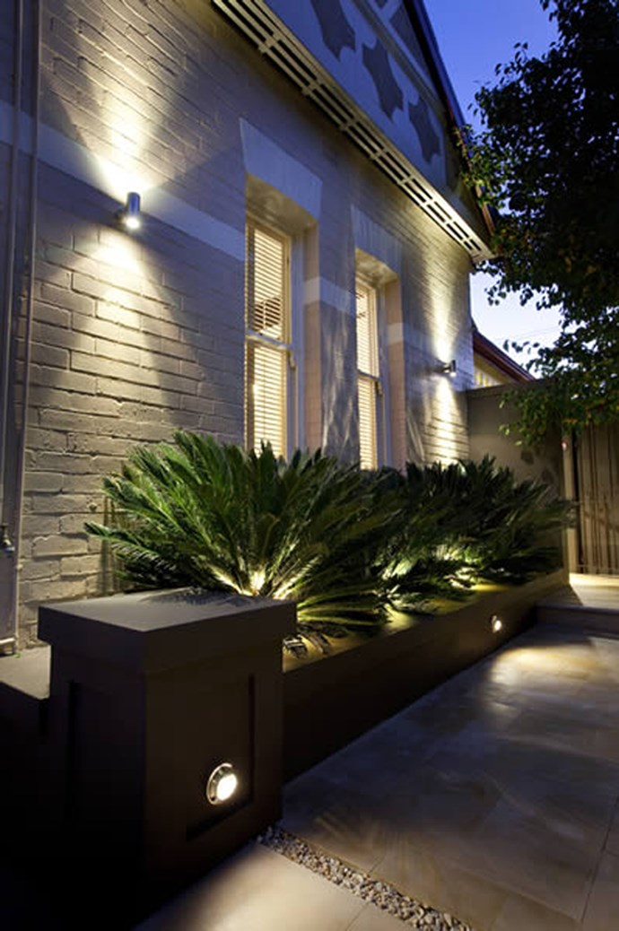 6\. Outdoor lighting. Investing in some alfresco illumination not only adds curb side charm, it also comes with the added benefit of extra security for your home and contents. Solar powered lights are also free to run. _Image via [The Garden Light Company](http://www.thegardenlightcompany.com.au/)_