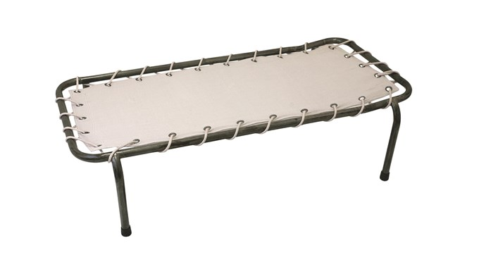 Numero 74 metal school bed, $385, [Nomades](https://www.nomadeshome.com/)