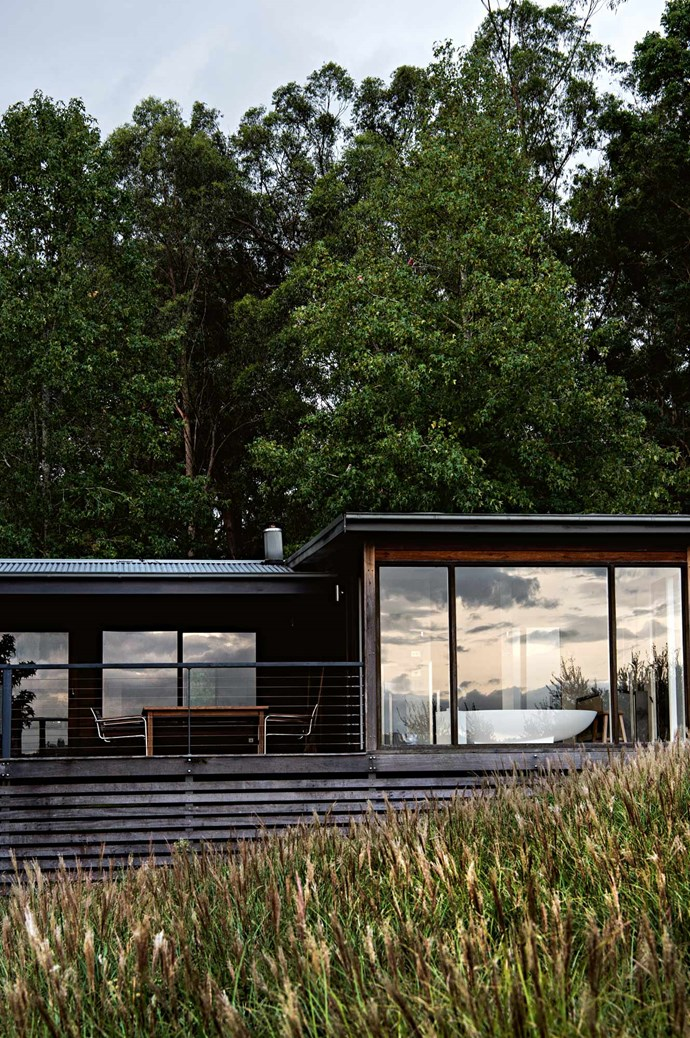 """Valleyfield, built in 1839, originally received its name from NSW governor Sir George Gipps. """"It's a beautiful Australian farmhouse; however, inside it's extremely modern,"""" Armondo says."""