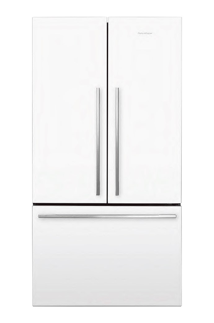 Fisher & Paykel 'RF610ADW5' French-door refrigerator in White, $2799, [Harvey Norman](http://www.harveynorman.com.au/)