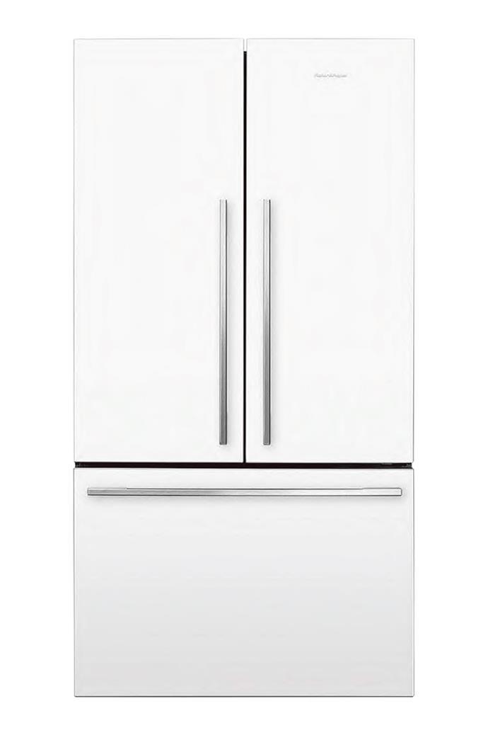 Fisher & Paykel 'RF610ADW5' French-door refrigerator in White, $2799, [Harvey Norman](http://www.harveynorman.com.au/)