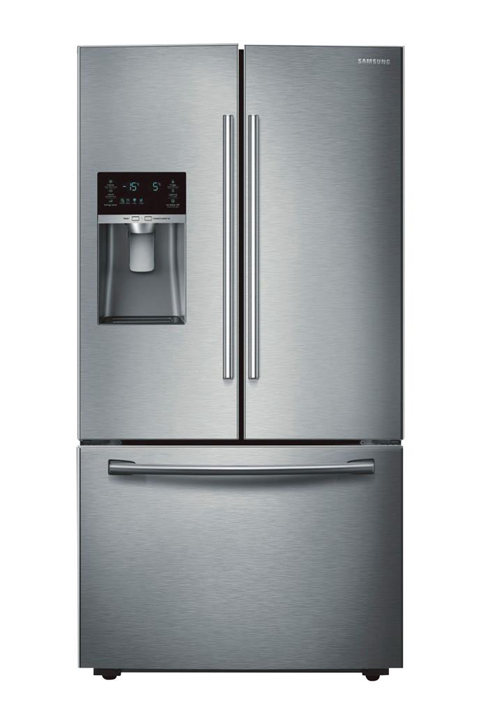 Samsung 'SRF653CDLS' French-door refrigerator (653L), $2499, [The Good Guys](https://www.thegoodguys.com.au/)