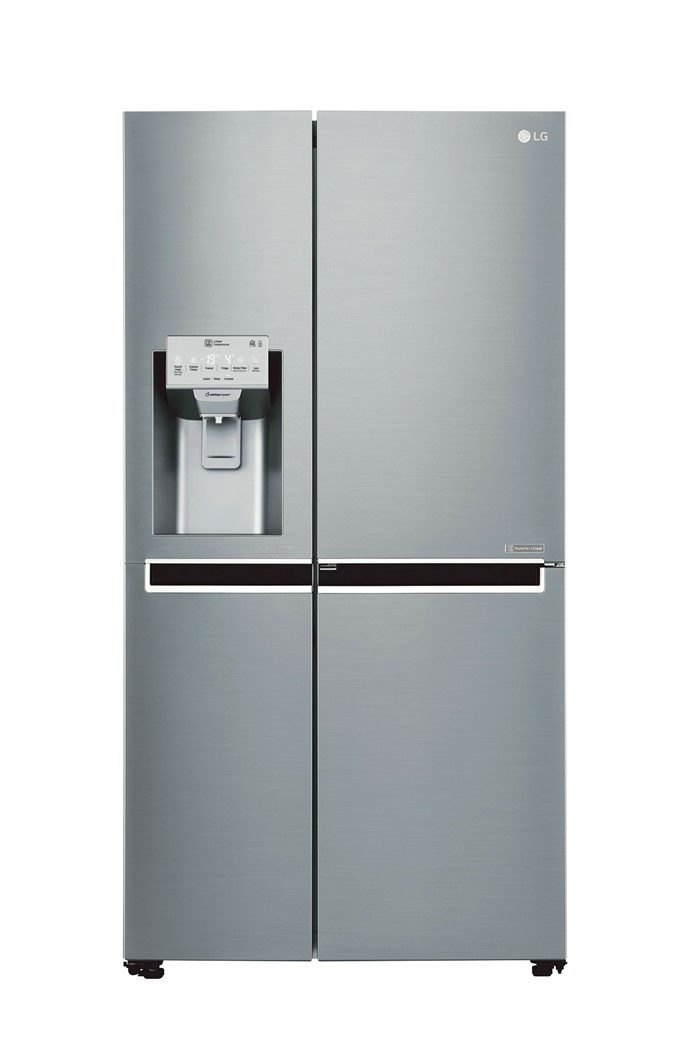 LG 'GS-D665PL' side-by-side refrigerator in 665L, $2299, [The Good Guys](https://www.thegoodguys.com.au/)