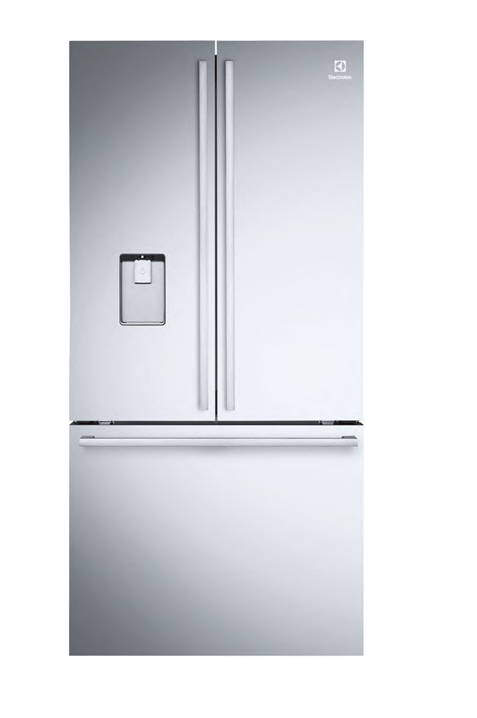 Electrolux FreshZone 'EHE5267SA-D' French-door refrigerator in stainless steel (524L), $2142, [Harvey Norman](http://www.harveynorman.com.au/)