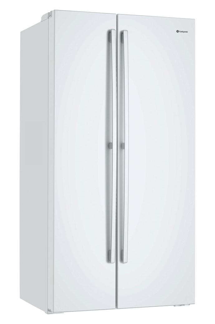 Westinghouse 'WSE6200WA' side-by-side refrigerator (620L), $1399, [The Good Guys](https://www.thegoodguys.com.au/)