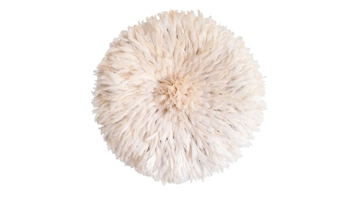 'Juju Hat' wall decoration, from $250, [Juju Décor](http://www.jujudecor.com.au/)