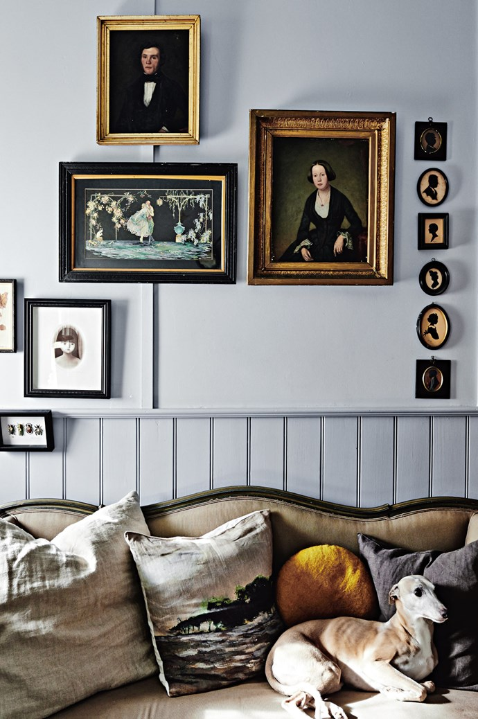 6. Or commit to a period-style space. Period-inspired compositions are busier, often favouring ornate detailing. Identify one defining feature (like panels or cornicing) and highlight it with bold colour. Invest in a particular interior style, and your apartment will appear a larger and more cohesive space.  | Photo: Lisa Cohen