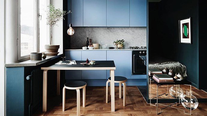 Colour us impressed. Shaynna Blaze, interior designer and [Taubmans](http://www.taubmans.com.au/) Brand Ambassador, is fanning out a whole vibrant spectrum of ways to fake space with colour. Before you design your perfect palette, ask yourself these key questions: How large is your apartment? How much natural light does it receive? Which direction does it face? Which era is its architecture inspired by? Here are Shaynna's seven commandments for apartment living, using colour in every shape and form to magnify a small space. | Photo: Jonas Ingerstedt