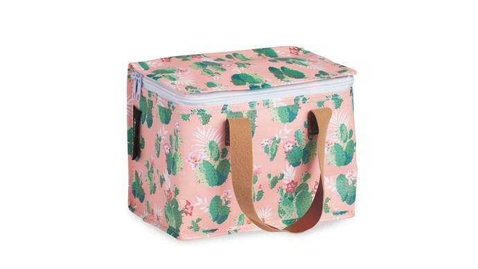 Kollab 'Cactus' insulated lunch bag, $19.99, [Kido Store](https://www.kidostore.com/)
