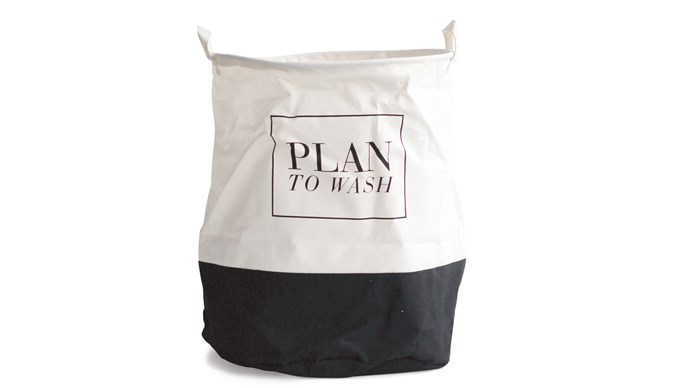 Hide your dirty laundry in an elegant cotton-blend hamper. House Doctor laundry bag, NZ$44.90, [Father Rabbit](https://fatherrabbit.com/)