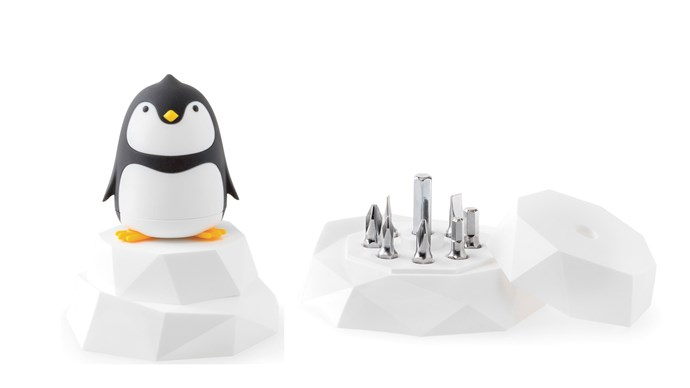 Is it our favourite flightless aquatic bird, or a handy repair kit? A case of two birds, one stone. iThinking 'Penguin' screwdriver set, $33, [Top 3 By Design](https://top3.com.au/)