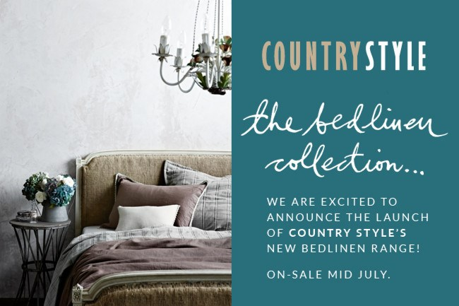 The Beautiful bed linen range is now available at the [Country Style shop](http://www.shopcountrystyle.com/)! | Photo: Sharyn Cairns
