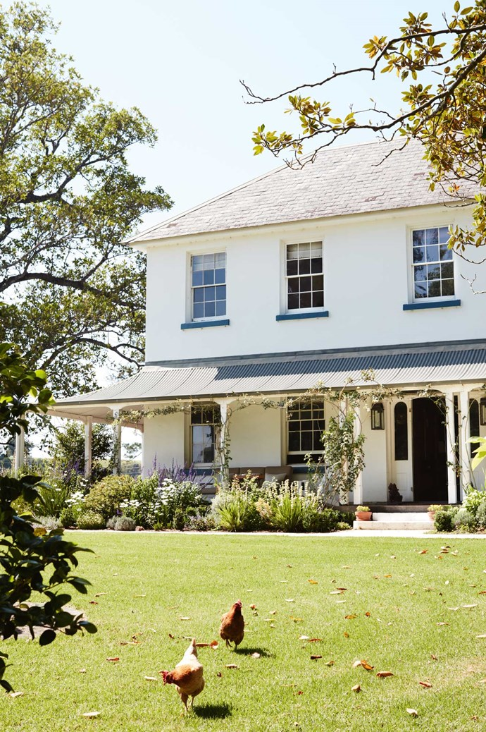 """The couple spent more than a year restoring the 1858 house, painting the exterior with Dulux Lexicon. For more information and to book accommodation, visit [Terragong's official website](http://www.terragong.com/ target=""""_blank"""" rel=""""nofollow"""")."""