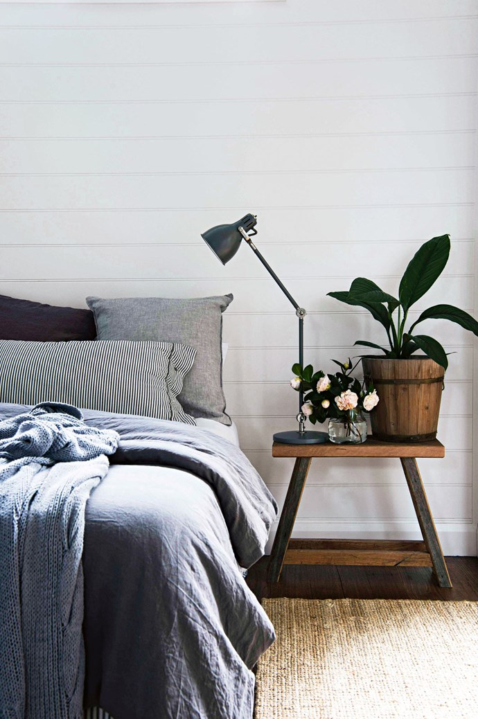 "The linen in the main bedroom is from IKEA and [Cultiver](https://cultiver.com/|target=""_blank""