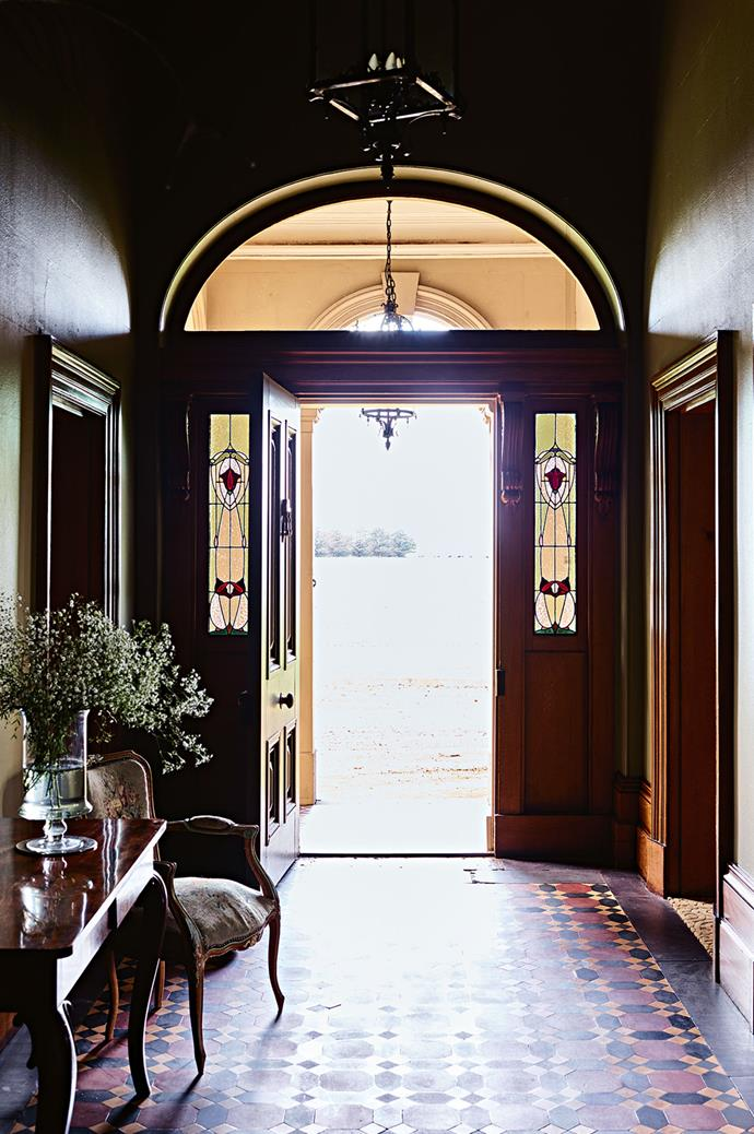 """The original [entrance hall's](https://www.homestolove.com.au/how-to-decorate-a-large-entry-hall-3804