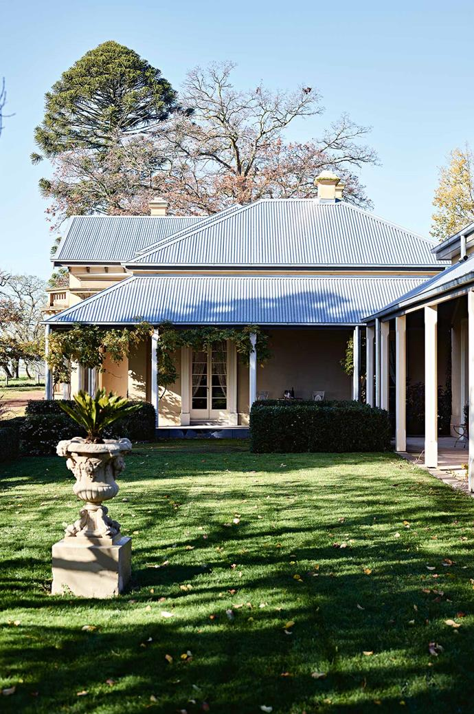 """""""We love the history and pay respect to the previous owners. But for us, it's a [family home](https://www.homestolove.com.au/15-family-friendly-homes-2759