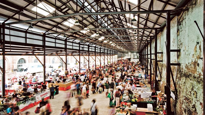 6\. [Carriageworks Farmers' Market, Sydney](http://www.carriageworks.com.au), Saturdays.Held within the grounds of the distinctive 19th-century industrial Carriageworks every Saturday between 8am and 1pm, this market features seasonal and homemade goods from farmers and artisan producers from across NSW.