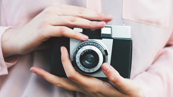 There's still nothing like a traditional-style camera to capture the special moments throughout your life. Click through for our 10 best cameras to help you stay snap happy!  | Photo: Stocksy