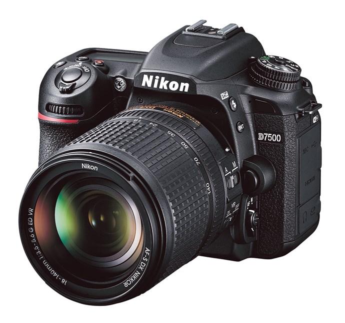 3\. 'D7500' digital SLR camera, $1999, from [Nikon](www.nikon.com.au/en_AU/home).