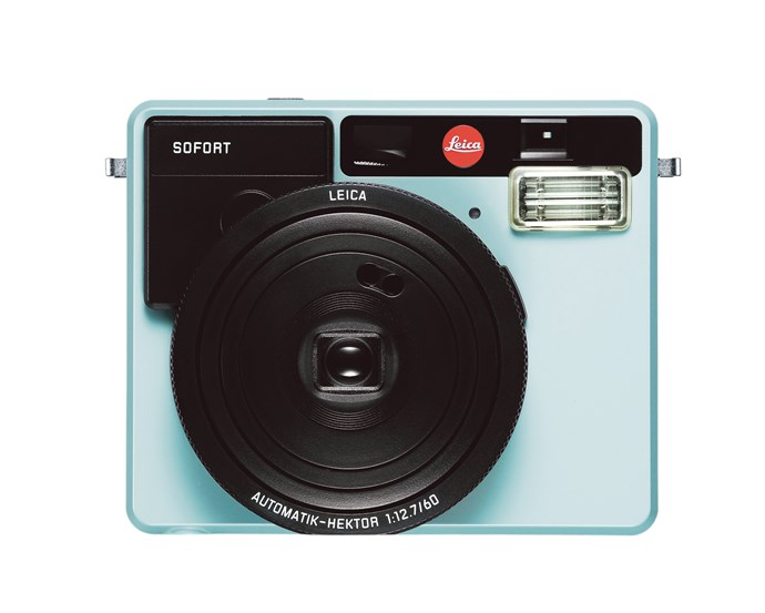 1\. 'Sofort' instant picture digital camera in Mint, $399, from [Leica](https://au.leica-camera.com/).