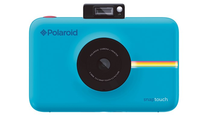 9\. 'Snap Touch' instant print digital camera in Blue, $369.95, from [Polaroid](https://www.polaroid.com.au/).