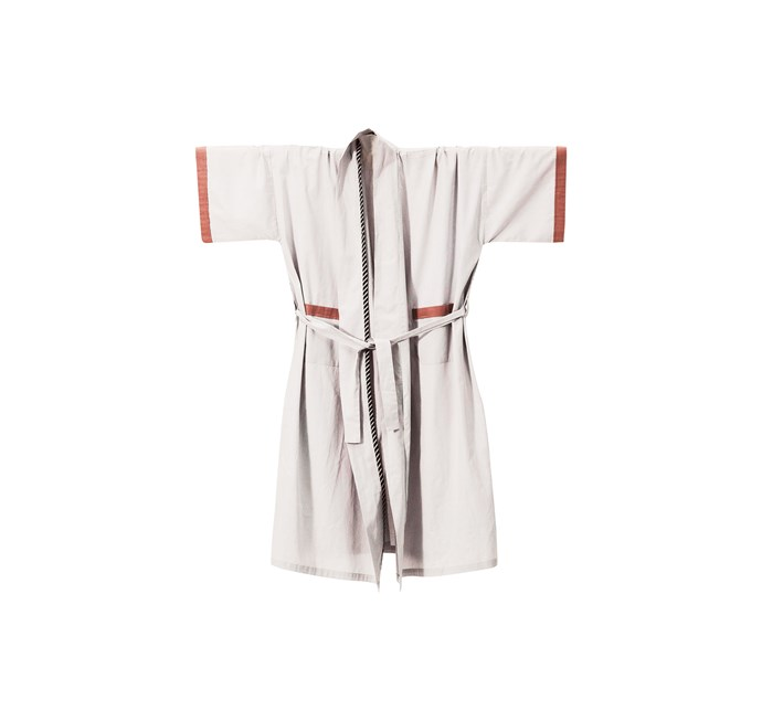 2\. Ferm Living 'Bliss Kimono' bath robe, $124, from [Designstuff](www.designstuff.com.au/).