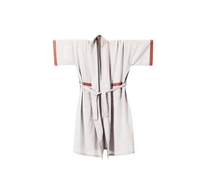 2\. Ferm Living 'Bliss Kimono' bath robe, $124, from [Designstuff](www.designstuff.com.au/).