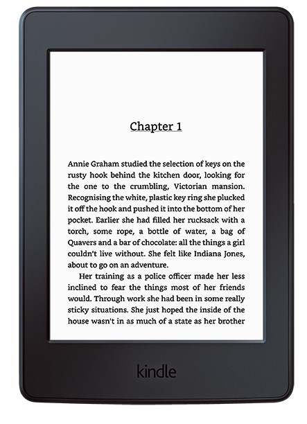 4\. Kindle 'Paperwhite' eReader, $174, from [Officeworks](https://www.officeworks.com.au/).