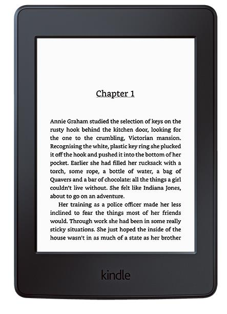 4\. Kindle 'Paperwhite' eReader, $174, from [Officeworks](https://www.officeworks.com.au/).