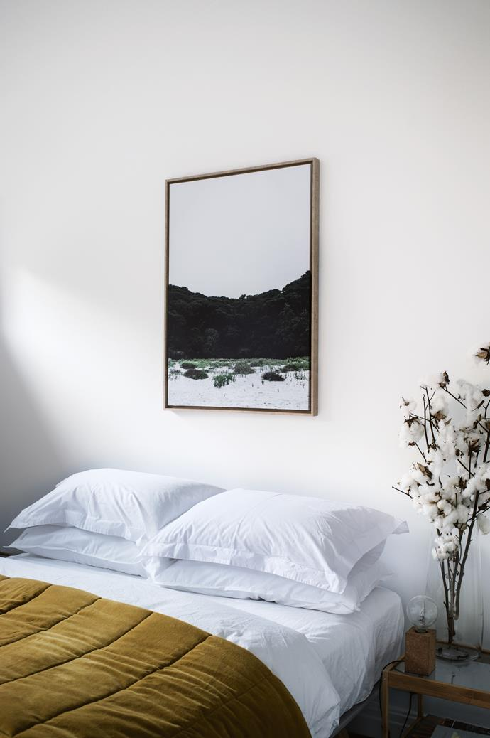 "The artwork in the guestroom is by Jeremiah Locke from [Twig and Moss](https://www.twigandmoss.com.au/|target=""_blank""