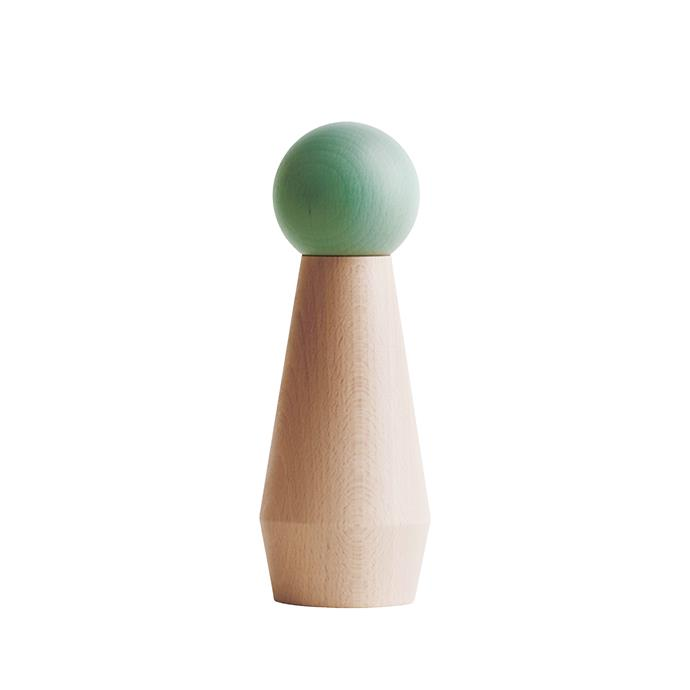 Tableware that gives you something to twist and shout about. Oyoy salt and pepper mill in Mint, $132, from [Simple Form](https://simpleform.com.au/).