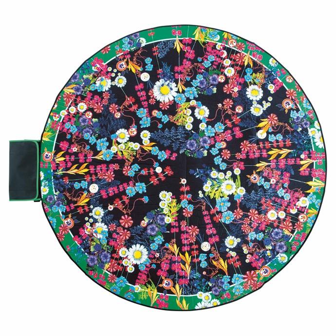 'Day Tripper' love rug, $155, by Cynthia Rowley from [Basil Bangs](https://www.basilbangs.com/).