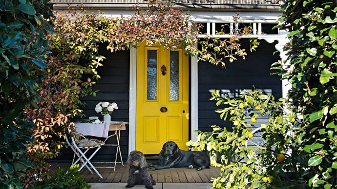 QUESTION: How do I choose the best exterior paint colour for my weatherboard house? ANSWER: Take a drive around your neighbourhood and see what colours work well on similar houses. Resist the urge to go with bright colours. If you love colour, you can have  fun with the front door. | Photo: Brigid Arnott