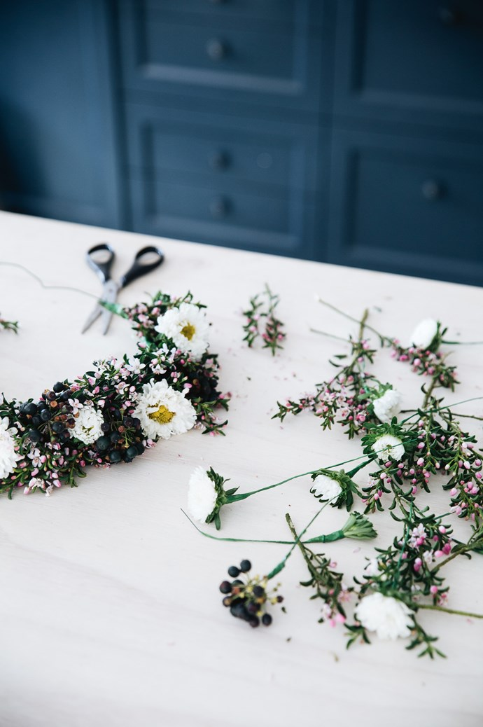 A pretty flower crown 