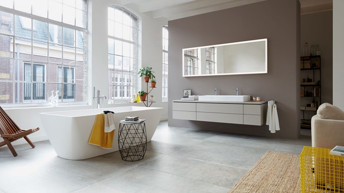 Your bathroom should be a space to relax and rejuvenate, and there's no better way to add a luxe touch to one of the hardest working rooms in your home than with a freestanding bath. Take a look at these five ways a tub can make the bathroom your favourite room in the house, with expert tips from Elie Habib, head of Domayne's Bathroom Design and Renovation Centre.