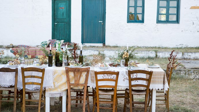 Hosting bespoke Creative Retreats to the Greek islands in an effort to inspire women is a joyous job for writer [Paula Hagiefremidis](http://mediterraneanwanderer.com/). Co-facilitated with guest stylist [Shannon Fricke](https://shannonfricke.com/) and photographer [Carla Coulson](http://carlacoulson.com/), the Retreat empowered women to trust their creative greatness and intuition for style. | Photo: Carla Coulson