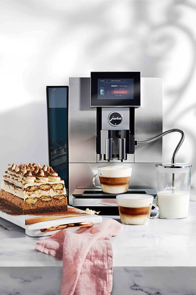 """It's great to have the option of offering coffee after everyone has finished eating,"" says Victoria. ""And a high quality machine means everyone can enjoy a barista-worthy brew."" With Jura Z8 Automatic Coffee Machine (Z8ALU), $4490, available at [Harvey Norman](https://www.harveynorman.com.au/)."