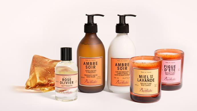 The Sensualist Bastide, the cult French fragrance and body care brand, creates floral-tinged, natural-leaning products that evoke the fields of Provence. Bastide collection; [mecca.com.au](https://www.mecca.com.au/)
