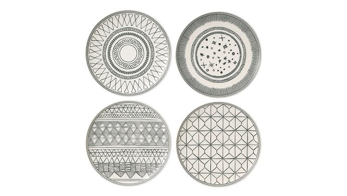 The Entertainer Royal Doulton collaborated with design buff Ellen DeGeneres on this spiffy collection inspired by the constellations and neolithic pottery patterns. ED Ellen DeGeneres; [royaldoulton.com.au](https://www.royaldoulton.com.au/)