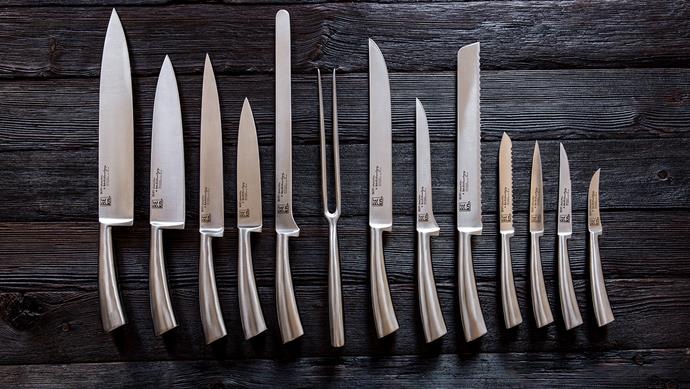 The MasterChef Addict The Be-Knife collection is the sharp result of a union between Italian companies KN Industrie and Coltellerie Berti. KN Industrie knives; [spenceandlyda.com.au](https://www.spenceandlyda.com.au/)