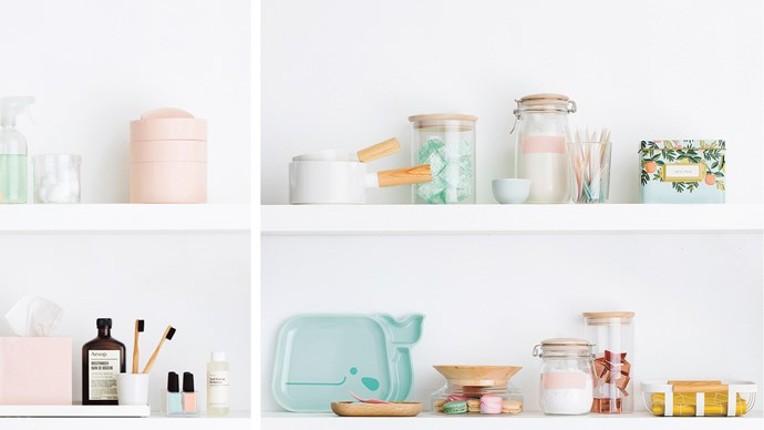 With the new year upon us, a clutter-free home is naturally everyone's end  goal. And it's really is not that difficult to achieve. Get creative and use dead  shelf space to your advantage. You'll notice the difference. Click through for our best (and brightest) storage systems to tidy absolutely every cupboard in your home.  | Photo: Chris Warnes