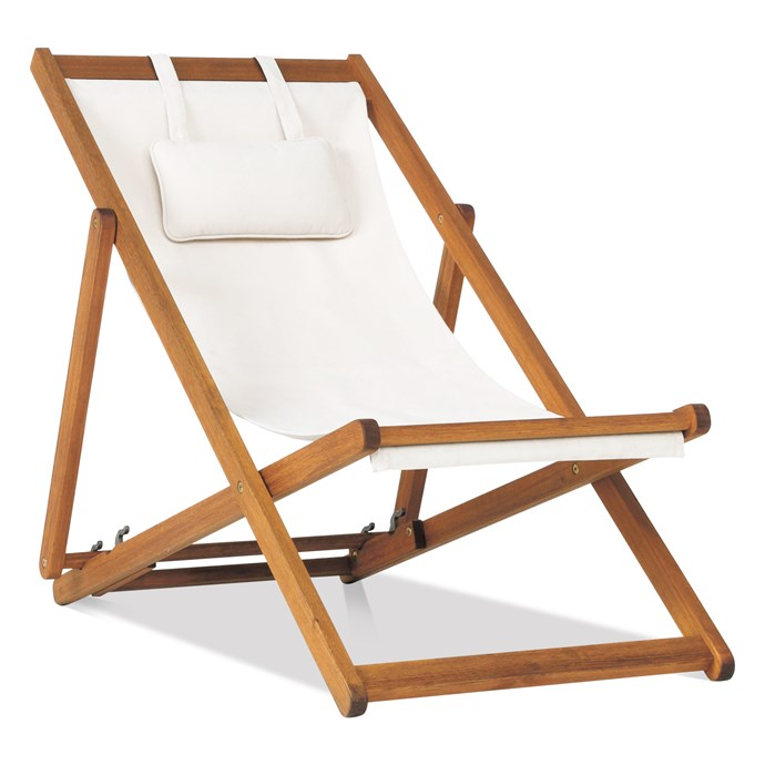 11\. 'Milford' outdoor deck chair, $129, from [Freedom](https://www.freedom.com.au/).