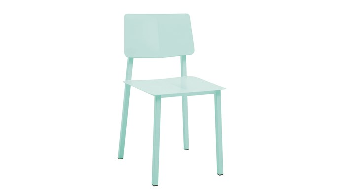 5\. Harto 'Rosalie' chair in Pastel Green, $495, from [Clickon Furniture](https://www.clickonfurniture.com.au/).