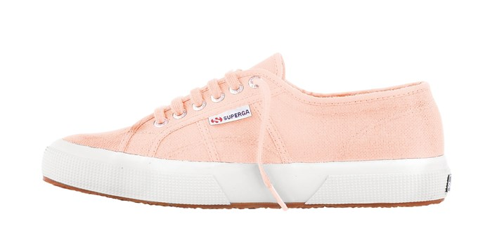 10\. Pure comfort, effortless style and the cutest of hues: these kicks have it all. Superga 'Cotu Classic' in Peach, $89.99, from [Trend Imports](http://www.trendimports.com.au/).
